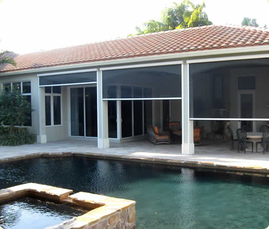 Boca Raton Retractable Screens Boca Raton Electric Screen Doors